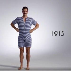 Video: 100 jaar zwembroeken in 3 minuten