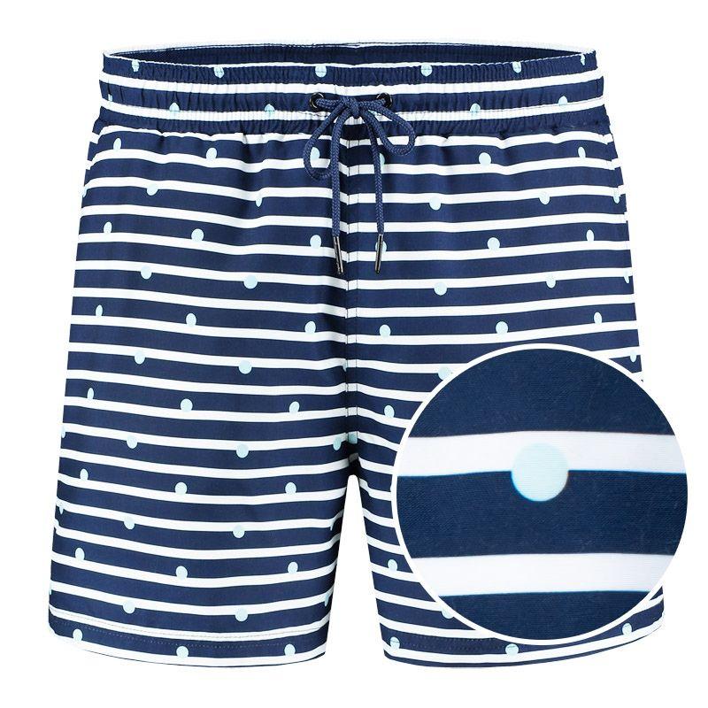 Afbeelding van A dam Underwear Heren zwemshort frans Gerecycled polyester