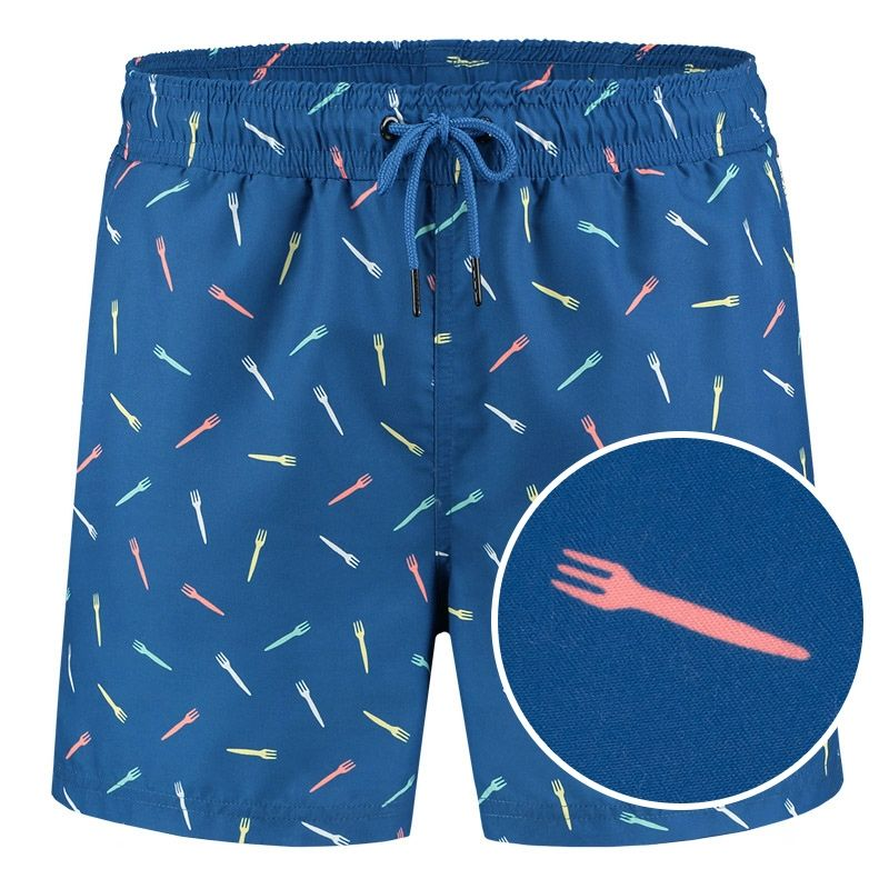Afbeelding van A dam Underwear Heren zwemshort piet Gerecycled polyester
