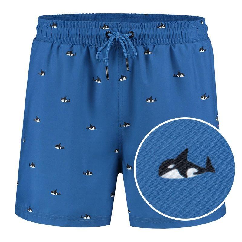 Afbeelding van A dam Underwear Heren zwemshort ron Gerecycled polyester