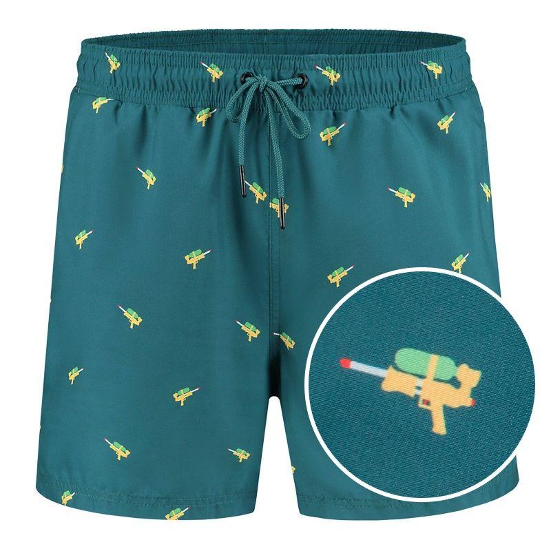 Afbeelding van A dam Underwear Heren zwemshort sido Gerecycled polyester