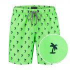 jongens zwemshort palm groen