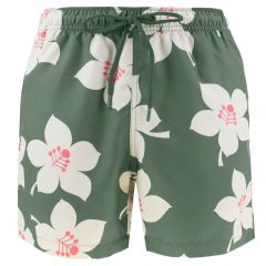 loose short sylvester graphic floral groen