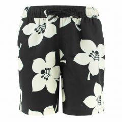 jongens loose short kenny graphic floral zwart
