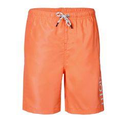 jongens hester logo zwemshort oranje