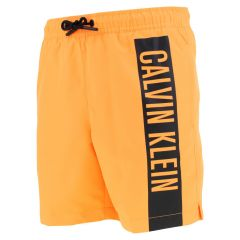 jongens contour logo zwemshort oranje