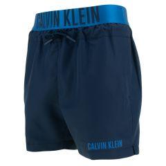 jongens elastic waistband zwemshort blauw