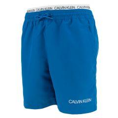 jongens double waistband zwemshort blauw
