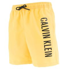 jongens big logo zwemshort geel