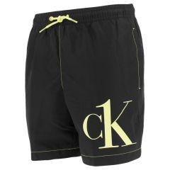 jongens corner logo zwemshort zwart II