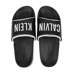 slippers slide zwart