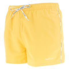 small logo zwemshort geel