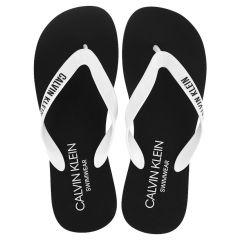 slippers logo strap zwart III