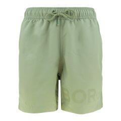 jongens short karim groen