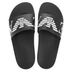 slippers EA eagle zwart