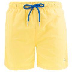 basic swim short geel