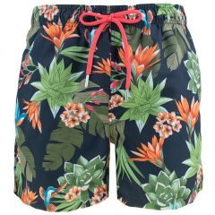humming garden swim shorts multi