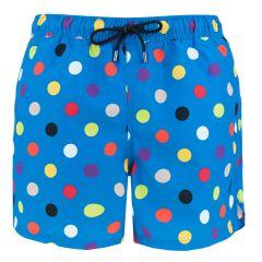 big dot short blauw III