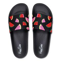slippers watermelon zwart
