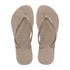 dames slippers slim roségoud