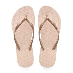 dames slippers slim roze