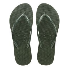 dames slippers slim groen