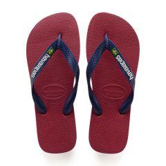slippers brasil logo rood