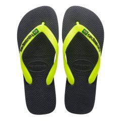 slippers brasil logo zwart II