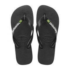 slippers brasil logo zwart