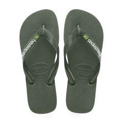 slippers brasil logo groen