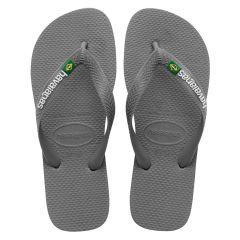 slippers brasil logo grijs