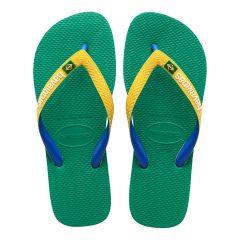 slippers brasil mix groen