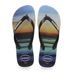 heren slippers hype boat blauw