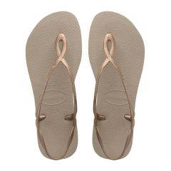 dames slippers luna roségoud