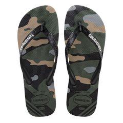 heren slippers top camu groen II