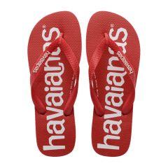 heren slippers top logomania rood