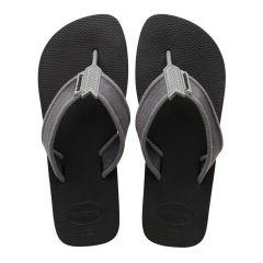 heren slippers urban basic II zwart