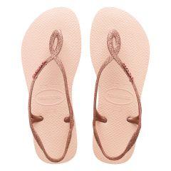 dames slippers luna premium II roze