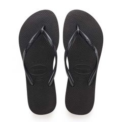 dames slippers slim zwart