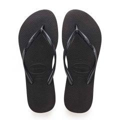 dames slippers slim zwart