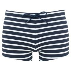 matias zwemboxer stripes blauw & wit
