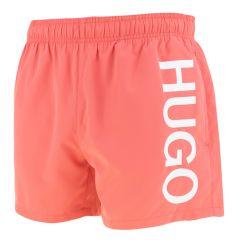 HUGO abas short side logo roze