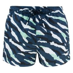tigershark short camo blauw