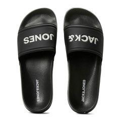 larry logo slippers zwart