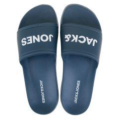 larry logo slippers blauw