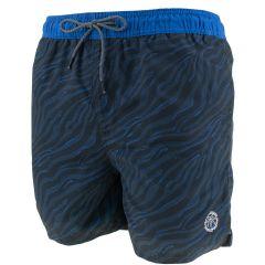 bali zwemshort animal zwart & blauw