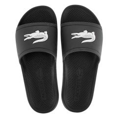 slippers croco zwart