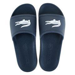 slippers croco blauw