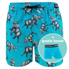 jongens rits zwemshort elephant