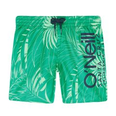 jongens cali floral zwemshort groen